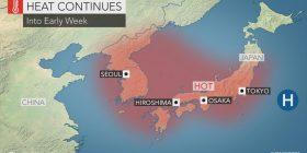 Japan: Deadly heat wave continues as temp hits record 41.4C near Tokyo – CNN