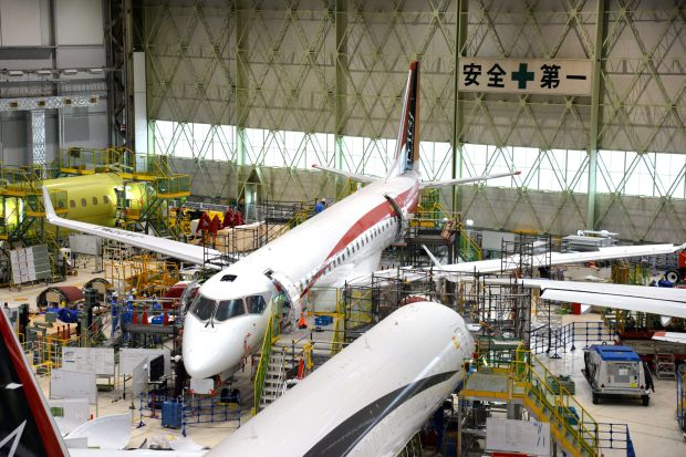 The Pressure Is On for Japan's First Jetliner – Wall Street Journal