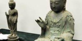Rotting Buddha statues stolen from Korea, Tsushima