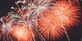 Those who do not go to fireworks today www