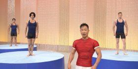 NHK, www wearing a terrible gym style program