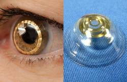 "【Image】 ""Telephoto contact lens"" which can obtain about 3 times vision is under development Cyborg 009"