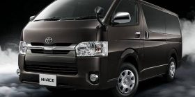 【Good news】 Toyota Hiace releases dark plating to blend into darkness
