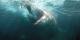 Jason Statham's shark movie, winning the first place in America first debut