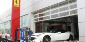 【Typhoon No. 21】 Italian luxury car Ferrari has 51 units total damage damage of more than 1 billion yen
