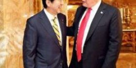 """[Sad news] Trump """"Abe ordered a great amount of weapons as a return for car tariff avoidance ww"""""""