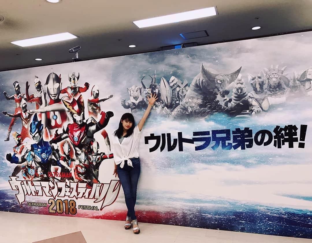 Tsuchiya Taiho, enjoy the Ultraman Festival this year too