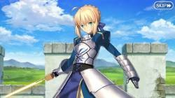 FGO Otaku draws his or her gacha in front of the grave of King Arthur