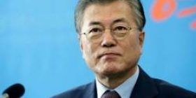 """President Mun, Korea, """"Kim chairperson said that we will abandon nuclear facilities depending on the future of the US!"""""""