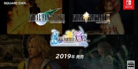 【Good news】 Remastered version of FF 7, 9, 10, 10-2 is released on Nintendo Switch