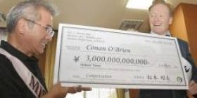 """[Joke] Mr. Conan """"Because I use the name of Conan, I request a claim of 3 trillion yen"""" → Hokuei mayor hands a counterfeit check written as 3 trillion yen"""