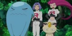 Anime I saw it when Pokemon entered the rocket group with Saunans, but the rooket group is too poor Sonance is too poor