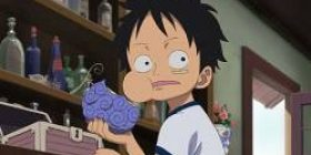 "Luffy ""Because it is rubber, electricity does not pass!"" I, ""So how are you going?"""