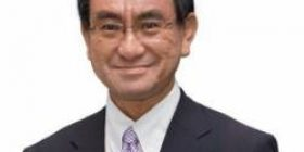 Foreign Minister Taro Kono, demands on the side of China to remove the surroundings of the Senkaku