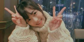 "【Angel】 Haruka Fukuhara, too cute ""also comes in this Komono knit"""