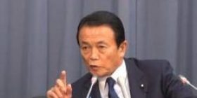 """Increase defense expenses"" Aso Minister of Finance Minister Aso Asahi reporter asked, ""Do not you think that the security environment is tough?"""