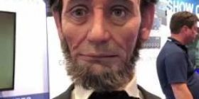 【Video】 Robot of the 16th US president Abraham Lincoln. I'm OK.