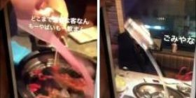 【Movie】 Yes Yes, the DQN group rampaged at the yakiniku restaurant.