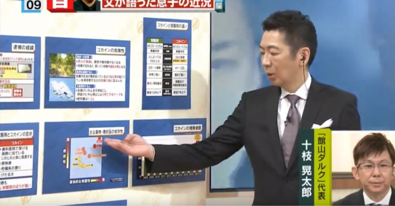 [Image] Miyane-ya, the government unveiled a chart which it wanted to hide between tea in a stately manner
