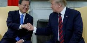 """[Hangong] """"Trump, support for food support to the north,"""" the contents of the Blue Tiles announcement, was not in the White House"""