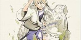 [Good news] Naruto's new work, the heroine is cute