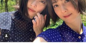 Nozomi Sasaki, I went to a hot spring trip with two people