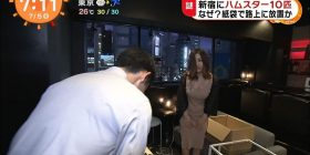 [Sad news] As soon as a girl who picked up 10 hamsters in Shinjuku appeared on TV, it was in the process of flooding