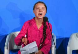 [Not disciplined] The news station picked up Greta Toonberry, the extreme left environmental activist girl.