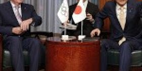 IOC chief to confirm Japan's food products safe for Olympic participants – Japan Today
