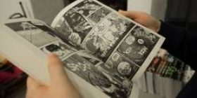 [Reading notice] Elementary school students are reading comics too scary to drink tapioca