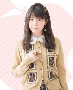 [Image] Voice actor Ayana Taketatsu, home cooking public www
