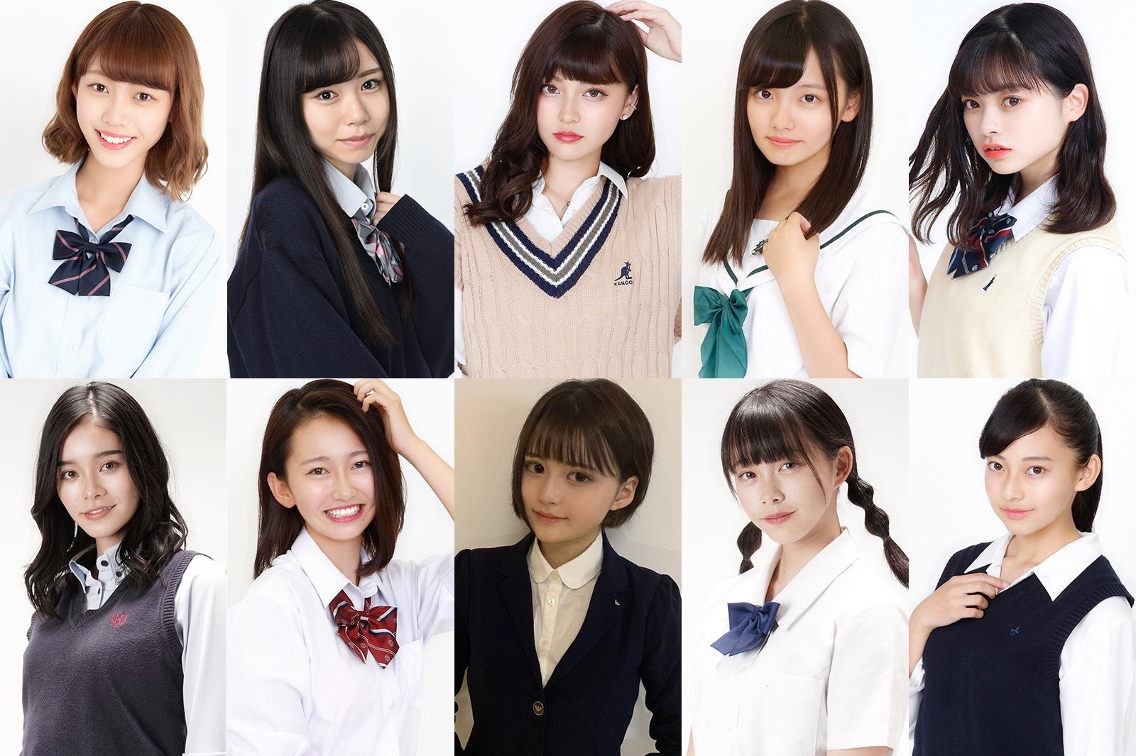 [Image] 10 cute Japanese high school girls are here wwwwwwwww